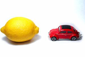 car and lemon