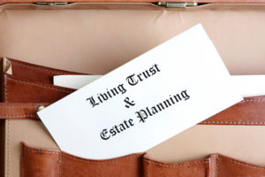 document titled Living Trust & Estate Planning