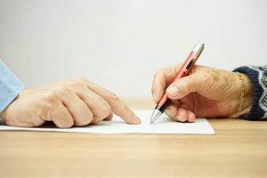 signing business and estate documents